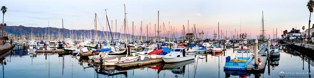 Image ID# Whalen-100222-1851 | Santa Barbara Harbor