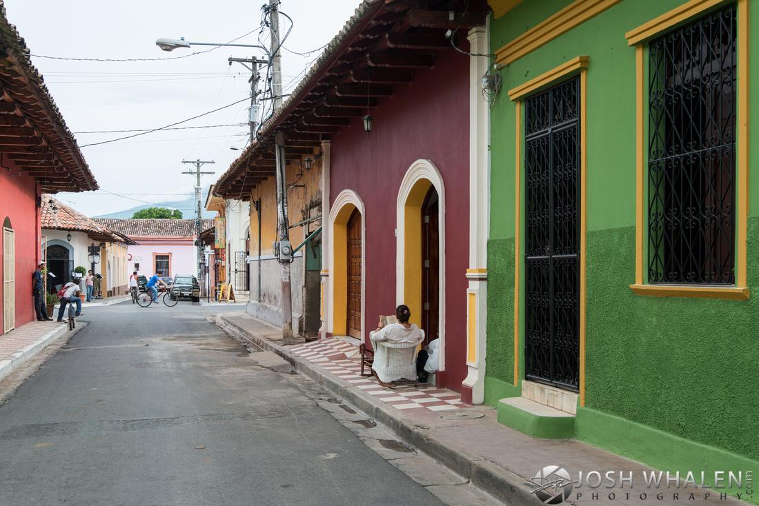 Daily life in Granada, Nicaragua.
