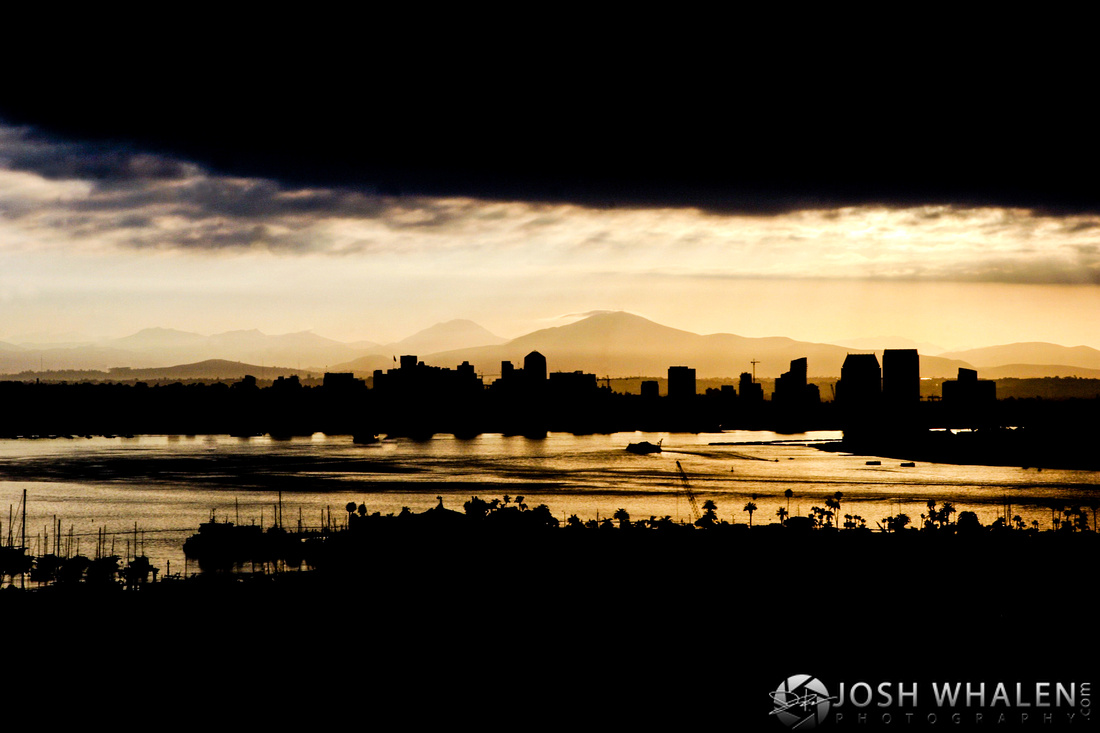 Image ID# Whalen-061007-1073 | Downtown San Diego Sunrise