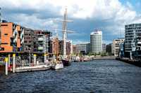 HafenCity in Hamburg, Germany.