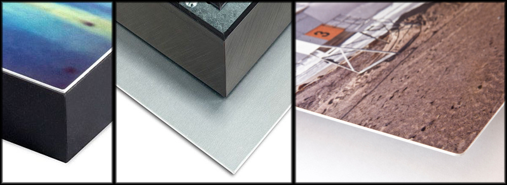 Sample image of brushed aluminum product from Josh Whalen Photography.